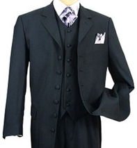 6 button suit