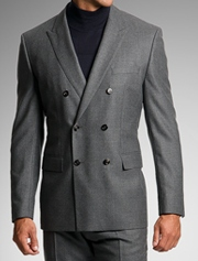 six button suit