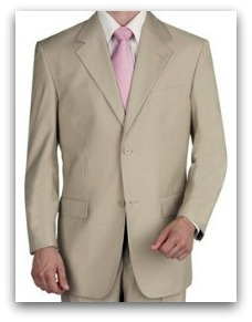 tan suit