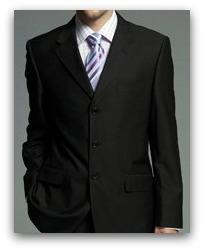 black suits