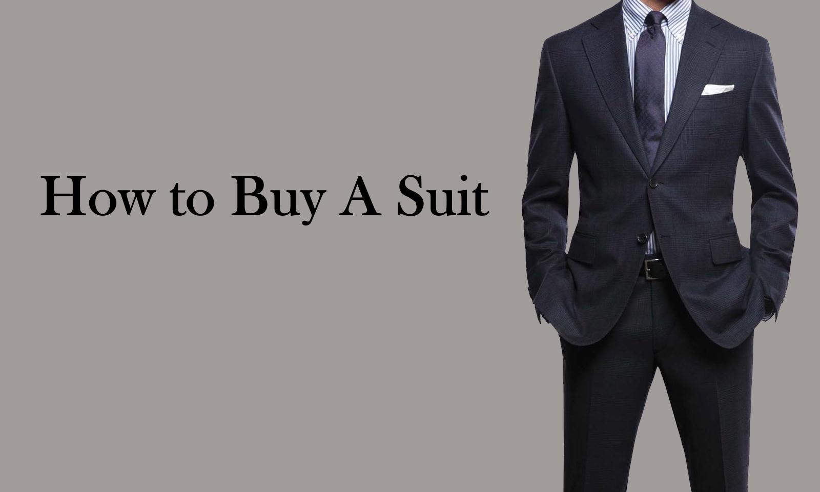 suit buying