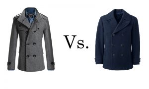trench coats vs pea coats